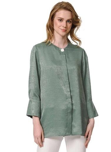 Mizalle Bluz Yeşil
